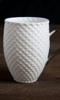 Porcelaine coffee mug
