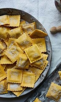 Ravioli braised beef plain