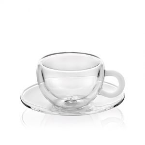 Cappuccino Glass Cups, IVV