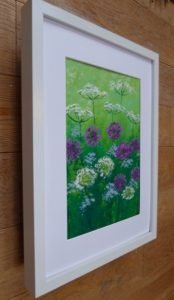 Alliums and cow parsley
