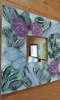 Roses and Lavender mirror