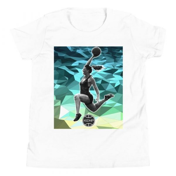 """Girl Dunk"" Youth Short Sleeve T-Shirt"