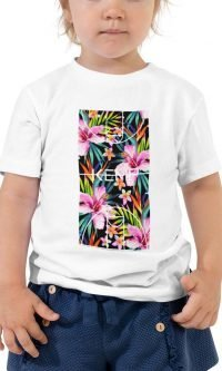 """Tropical"" Toddler Short Sleeve Tee"